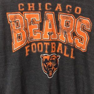 NFL Tops - Chicago Bears NWT Scoop Neck Chicago  Bears Top L